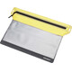 Cocoon Zippered Flat Wallet Large yellow/grey
